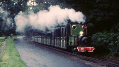All Aboard: Shane's Castle Railway and the Enterprise leaves Belfast