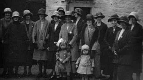 Opening of the Dumfries & Maxwelltown Working Girls' Club 18 Th Sept. 1924 by Lady Jardine O.B.E.