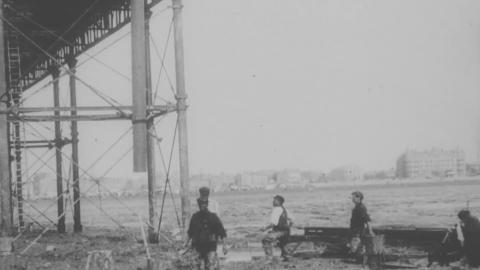 Pier Construction Work, Weston-super-Mare