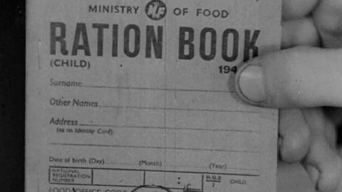 War Rationing Milk