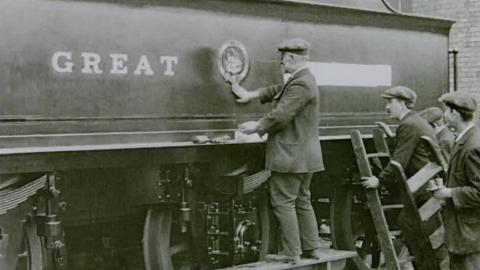 The Building of a Locomotive at Crewe