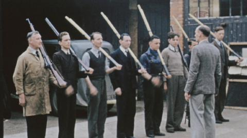 Home Front and Home Guard - Wartime Woking