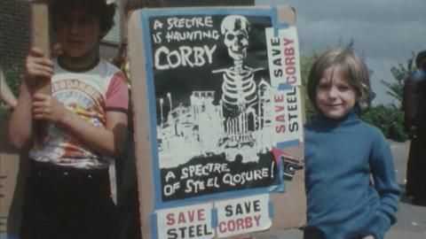 Corby Steel Works Closure