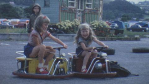 Victor H Williams' Family - Aberystwyth 1967