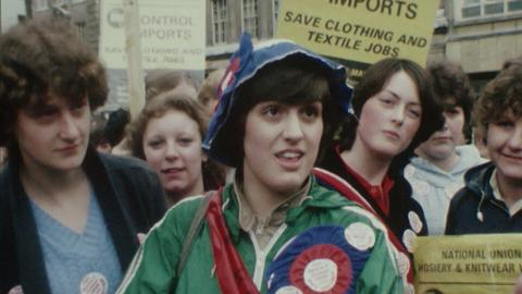 Knitwear Workers Protest March