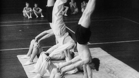Secondary School Gymnastics: Leyton County High School for Boys