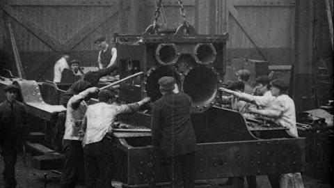 Building a British Railway - Constructing the Locomotive