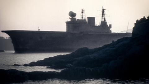 Farewell HMS Eagle