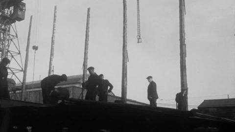 The Launch of the Punta Medanos at Wallsend