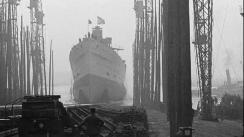 Clydebank. H.M. Ship 'Australia'
