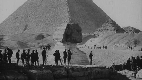 Australian Troops at the Pyramids