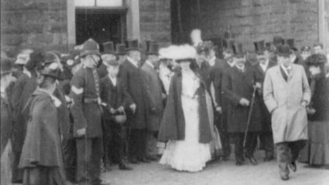 Visit of Sir George Cotton at Accrington (1902)