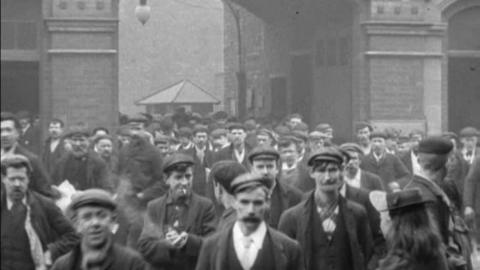 Employees at Robey's Works, Lincoln (1900)