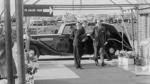 Duke of Edinburgh Opens Milford Haven