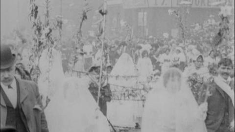 Manchester Italian Catholic Procession (1902)