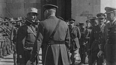 General Allenby's Entry into Jerusalem