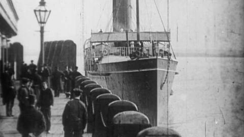 Holyhead Mail Boat 1898