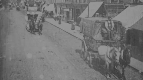 Horse-drawn Traffic in Seven Sisters Rd