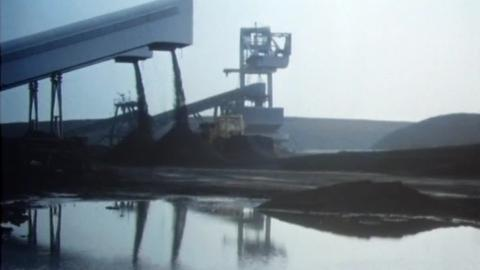 Island Built on Coal