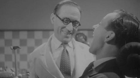 Arthur Askey on How to Become a Dentist  Lesson 1.  How to Pull