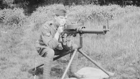 Lewis Gun Drill