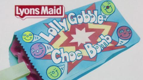 Lyons Maid Lolly Gobble Choc Bomb