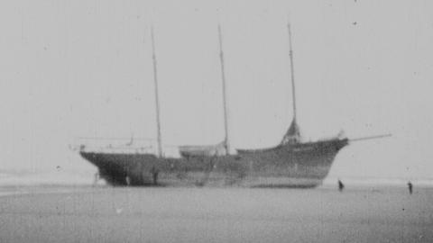 S.S.Pusey Jones No.2 Ashore at Rhyl