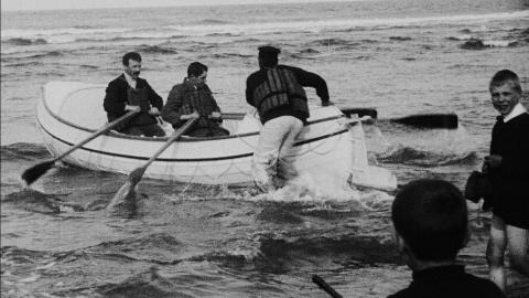 Presentation and Launching Ceremony of the New Whitley Lifeboat