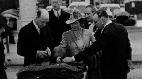The Visit of Their Majesties King George VI and Queen Elizabeth to John Barran's Factory