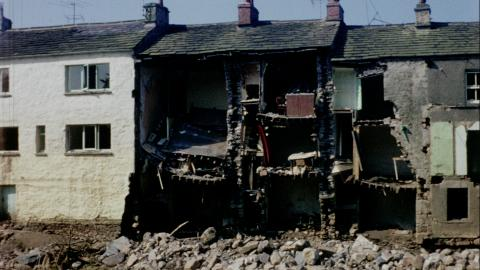 Village of Wray After the Floods 1967