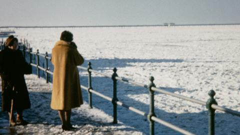 The Frozen Sea at Herne Bay in 1963