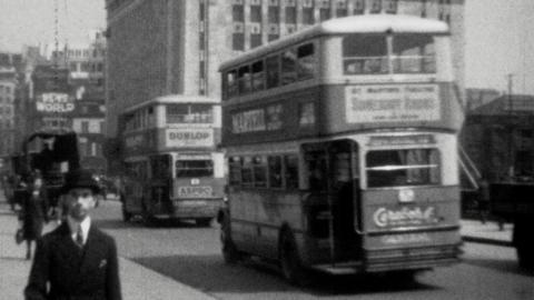 Scenes of 1930s London
