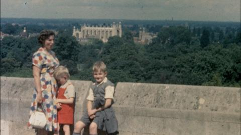 The Torrens family visits Windsor, Kew and London