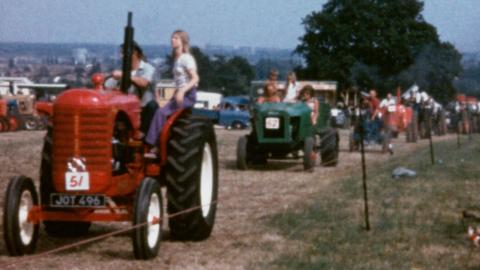 Netley Marsh Steam Engine Rally 1976