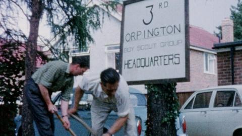 Building the 3rd Orpington Boy Scout Group Headquarters