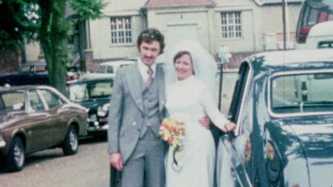 Wedding of David Richard McCallum & Carole Ingamells at St Mary's Church