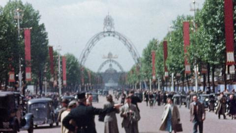 Coronation Route 1953