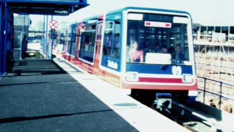 Docklands Light Railway Comes to Stratford