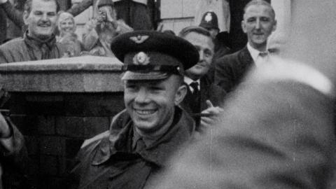Yuri Gagarin visits Manchester, 12 July 1961