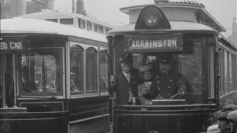 Opening of Accrington Electric Tramways (1907)