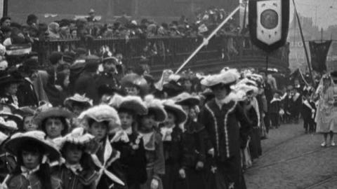 Oldham Catholic Schools Procession (1904)