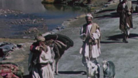 Peshawar, Kabul, Bamian, Herat, Meshed