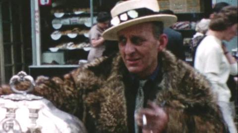 Portobello Road Market - Personal Film - C1954