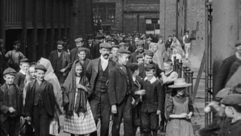 Textile Workers Leaving a Factory (c.1901)