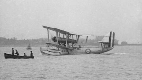 Sea-Plane Launching Apparatus