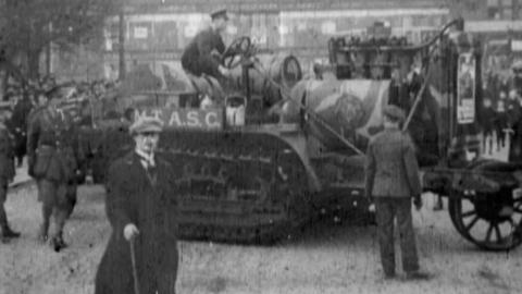 Tank Bank's Tour through Scotland