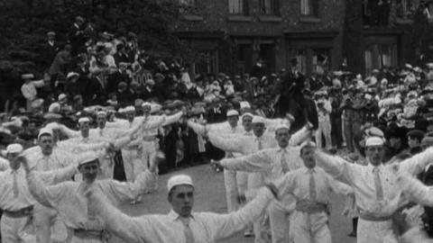 Crewe Hospital Procession and Pageant (1907)