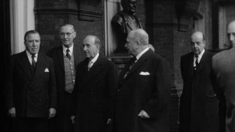 Visit to the RGS by the President of Peru, 25th February 1960