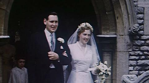 Wedding of Dick Catchpole to Angela Scholey