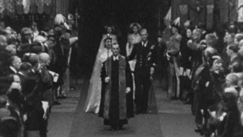 Wedding of Princess Elizabeth and Philip Mountbatten